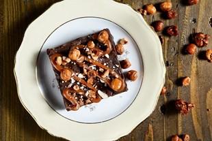 Image de Brownies Amandes/Noisettes et Caramel