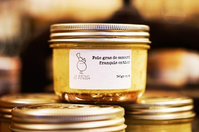 Image de Bocal de foie gras de canard maison 190g