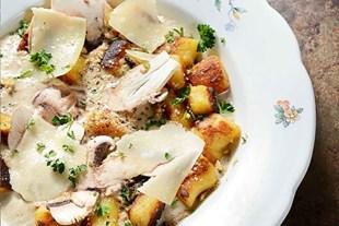 Image de A RECHAUFFER ⸱ Gnocchis & crème de champignons