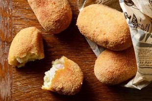 Image de Croquettes maison de jambon truffé.