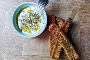 Image de Crème de St Marcellin & mouillettes de pain